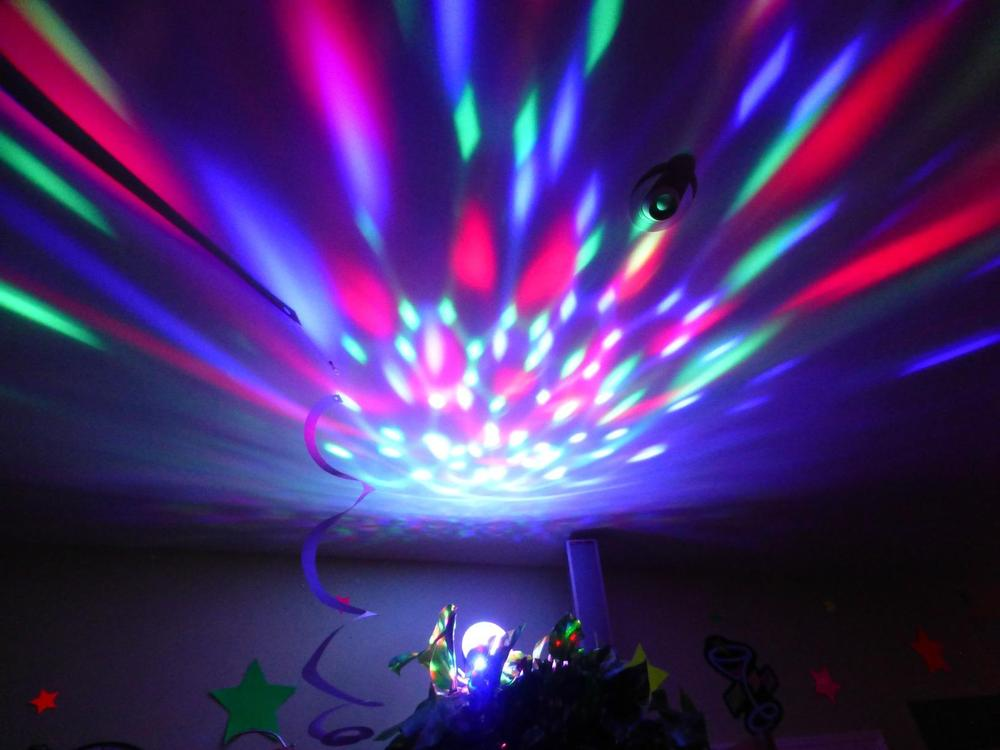 Rotating Strobe E27 LED Crystal Stage Lighting Stage Lights Background for Disco Party Club Bar DJ Ball bulb(China (Mainland))