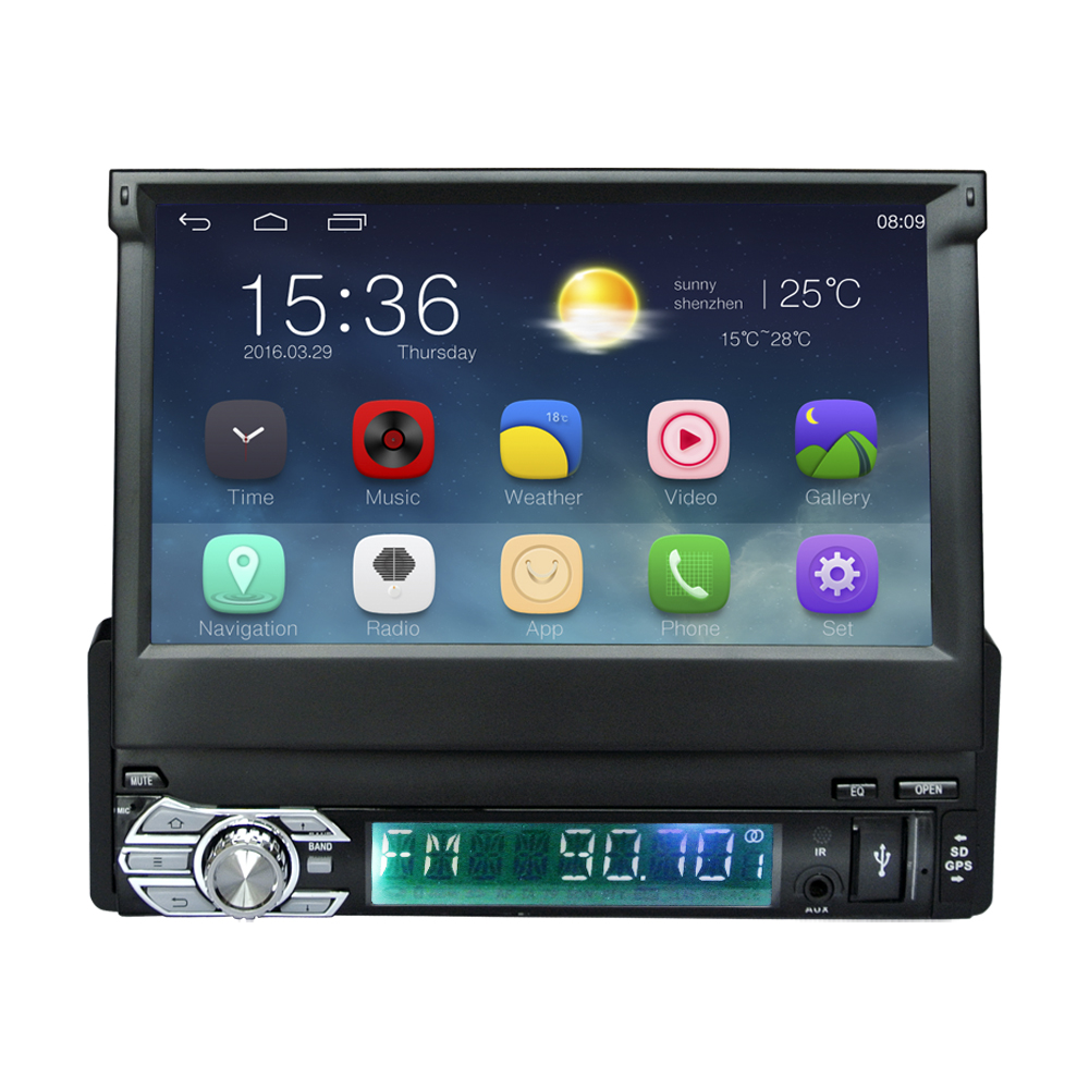 popular single din android car stereo buy cheap single din android car stereo lots from china. Black Bedroom Furniture Sets. Home Design Ideas