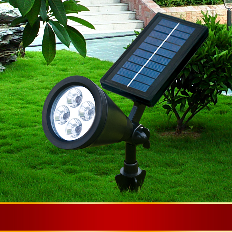 Super-bright outdoor waterproof lawn lamp can be inserted plug ground projection light points(China (Mainland))
