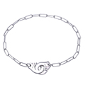 Europe Popular 925 Sterling Silver Menottes Handcuffs Bracelet For Women Fashion Jewelry Love Charm Bracelet Without