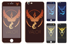 Tempered Glass film Screen Protector front+back cover for iPhone 6 case 6S 6 Plus 6s plus mystic/valor/instinct design
