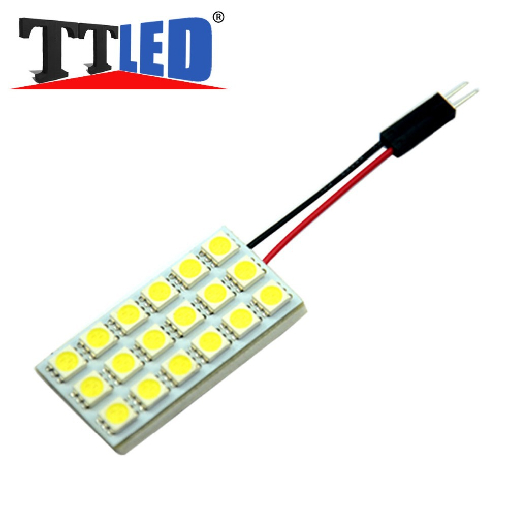 200X Car T10 Ba9s Festoon18SMD 5050 18 smd LED 12V Blue white Car Roof Interior Reading led with 3 Adapters #TL11-3(China (Mainland))
