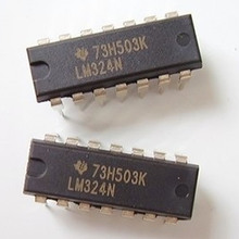 E066 Free shipping 50pcs LM324 DIP Amplifier LM324P DIP14 LM324N(China (Mainland))
