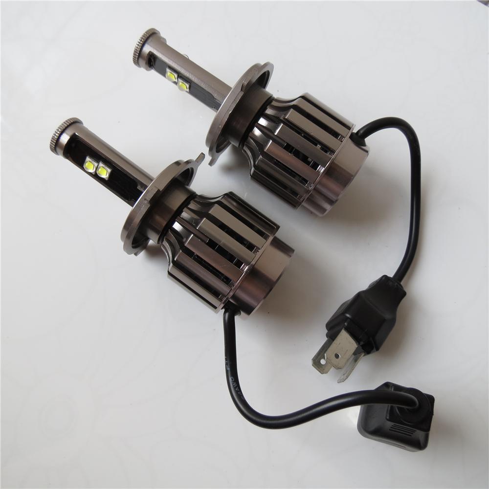 NEW 2015 Plug&Play 30W 3000LM 6000K Cree LED HI/LO H4 9003 DRL Fog Headlight No Need Ballast Relay