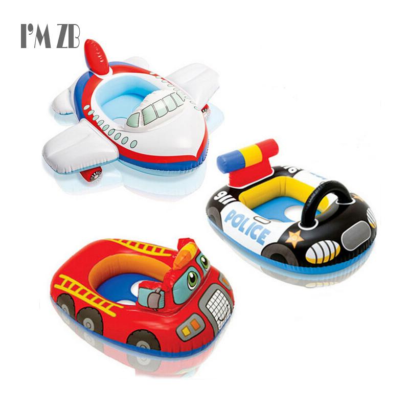 Baby Float Seat Car Shape Swim Inflatable Donut Ring Children Rubber Circle Flotado Swimtrainer Accessories Piscine Lap Swimming(China (Mainland))