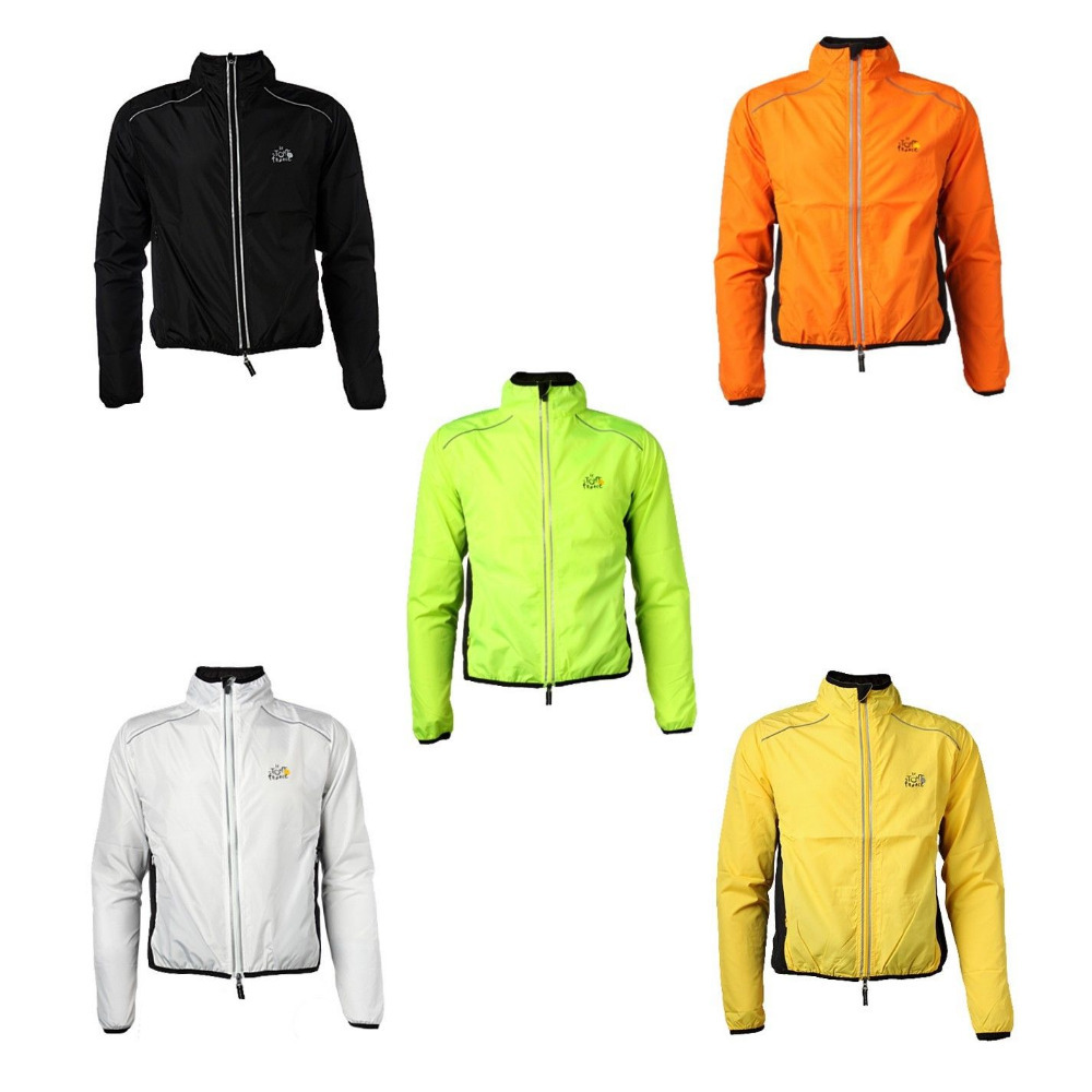 ROCKBROS TOUR DE FRANCE Breathable Bike Bicycle Cycling Cycle Waterproof Rain Coat Raincoat Wind Coat Windcoat Jersey Jacket(China (Mainland))