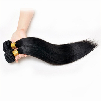 6A Peruvian Virgin Straight 18-30inch 100% Real Hair Weave 100g Natural Color Best Peruvian Hair No Shedding
