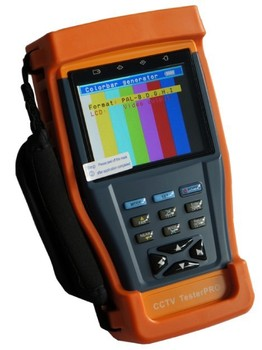 3.5'' TFT LCD Monitor CCTV Tester  DC12V Output Cable Tester/Audio CCTV Security Tester Multimeter Camera Video PTZ Test