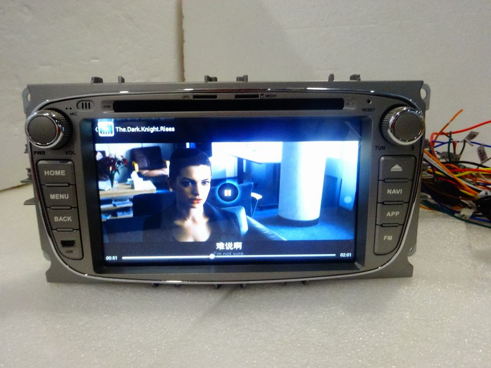 ROM 16G Quad Core Android Fit Ford Mondeo 2007 2008 2009 2010 Car DVD Player Navigation GPS 3G Radio