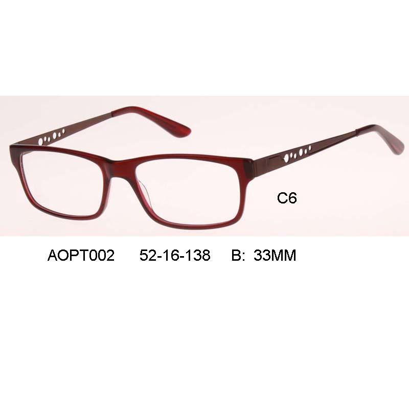 Brand Designer Eyeglasses Frame Vintage 7color Eye glasses ...