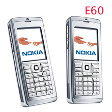 Original Unlocked Nokia E60 mobile phone Triband 3G Bluetooth WIFI Cheap Smartphone refurbished 1 year warranty free shipping