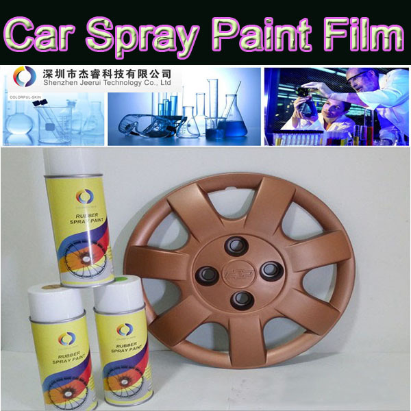 Car Spray Paint Film,Car Wheel Modification Wheel Hub Spray Membranes,Rubber Spray Paint Film 400ml(China (Mainland))