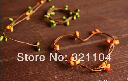 Free mail!!!! DIY Two color simulation plants sprout branches, wire frame <br><br>Aliexpress