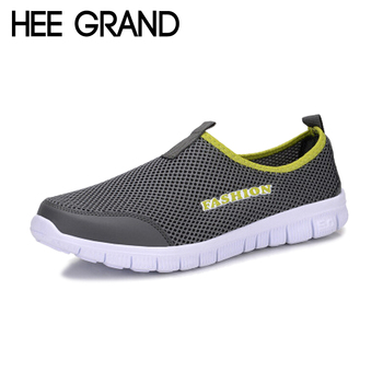 2016 Summer Style Men Shoes Male Lazy Network Shoes Man Foot Wrapping Breathable Mesh Shoes Men Drop Shipping Size Plus XMR199