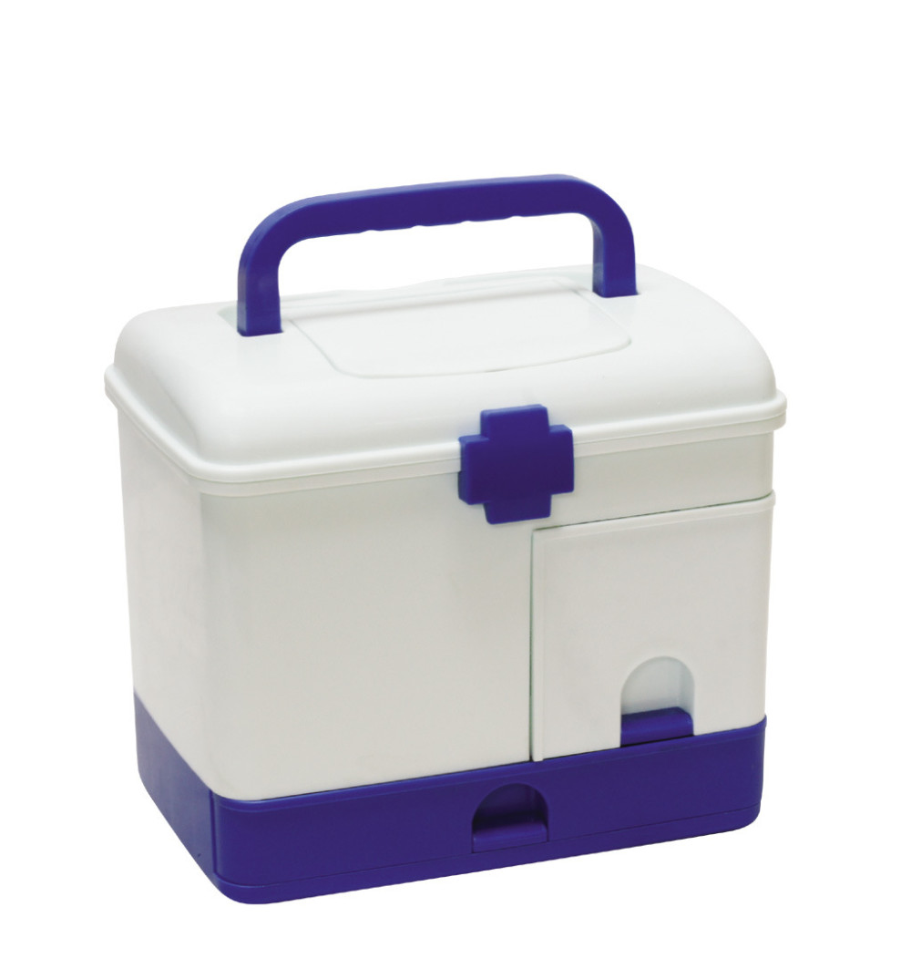 New Arrivals Household Medicine Storage Multi-Purpose Storage Box First Aid Medical Storage Box Health Care Large Capacity cheap