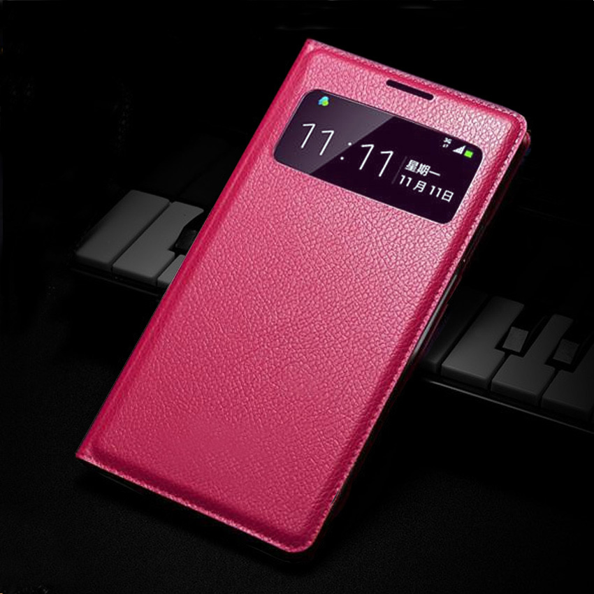 Slim Smart View Shell Auto Sleep Wake Bag Original Leather Case Flip Cover Holster Samsung Galaxy S4 Mini I9190 I9192 I9195 - Shen Zhen XiaoXiao Trading Co., Ltd store