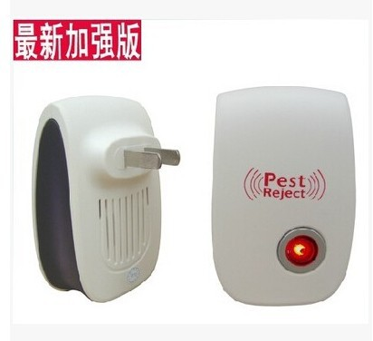 Free shipping Eco-Friendly 22-55KHz Ultrasonic Electronic Mosquit Pest Mouse Cockroach Repeller Reject(China (Mainland))