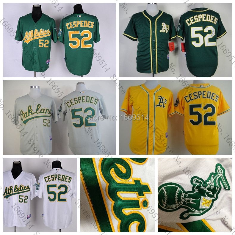 New Oakland 52 Yoenis , 48/56 MLB mlb oakland athletics lil teammates pitcher
