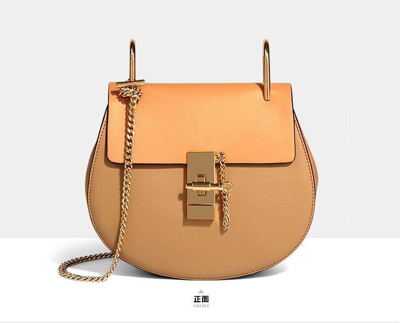 Shote bag women's handbag chain star drew bag leather bag female messenger bag(China (Mainland))