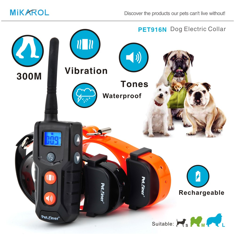 PET916N Electric Dog Training Collar, Remote Pet Trainer Collar for Small Dogs Help You Positively and Harmlessly Train Your Dog(China (Mainland))
