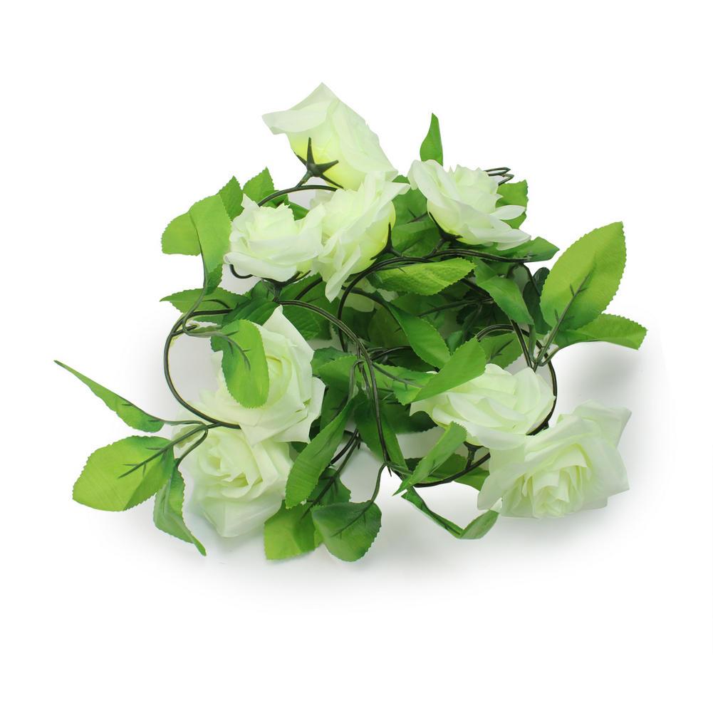 acheter soie artificielle fleur feuille de lierre plantes vigne faux fleur rose. Black Bedroom Furniture Sets. Home Design Ideas