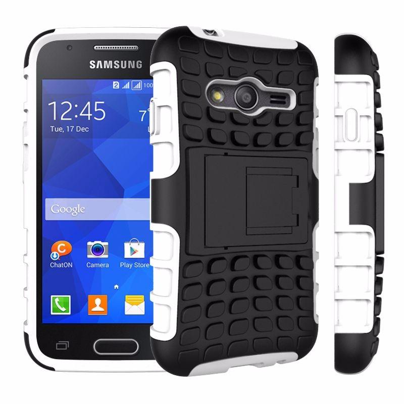 For Samsung Grand Core Prime Ace 4 E5 E7 G130 Armor Hybrid Defender Tyre Case for Samsung Ace 4 E5 E7 G130 Case Cover