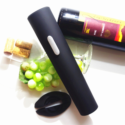 2015 Top Fasion Time-limited Wine Openers Black Eco-friendly Stocked Alloy Wine Bottle Opener Electric(China (Mainland))