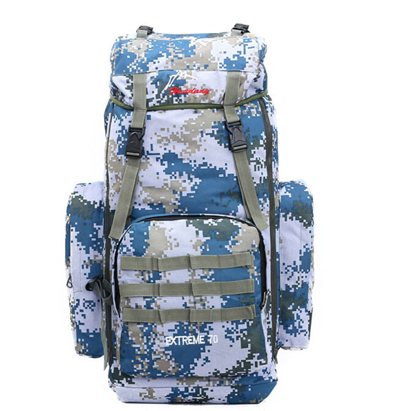 55L Military Nylon Backpack Branded Bicycle Cycling Rucksack Sport Mountain Packs Running Outdoor Hiking Bolsa mochila XA916C(China (Mainland))