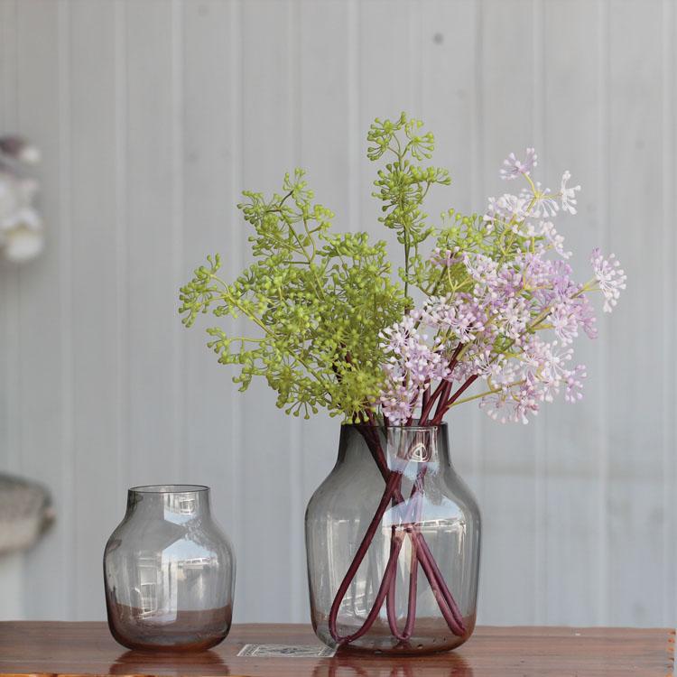 Compra antiguos jarrones de cristal de flores online al - Decoracion jarrones cristal ...