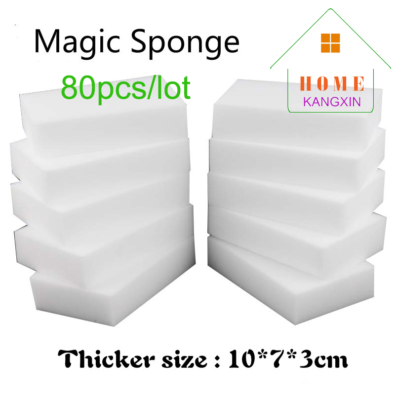 New Arrival Kitchen Cleaning Magic Sponge High Density White Melamine Sponge Eraser Keyboard Cleaning Kitchen Melamina Cleaner(China (Mainland))