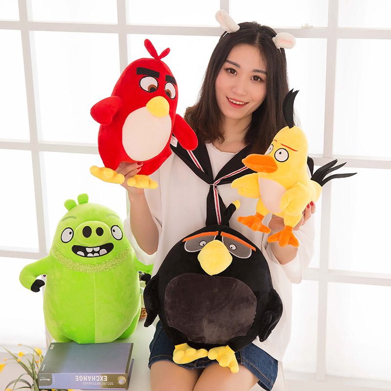 20cm plush toy doll Birds movies cartoon doll car ornaments wedding gifts small house pets Children's Gift Present Kids Toys(China (Mainland))