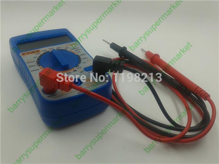 5pcs FTIKE DT830B+ AC/DC Ammeter Voltmeter Ohm Electrical Tester Meter Professional Digital Multimeter EU CE certification(China (Mainland))