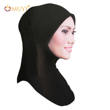 FREE SHIPPING wholesale muslim hijab islamic inner caps latest design turban modal ninja mini underscarf hot sale solid color(China (Mainland))
