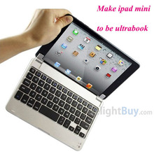7.9'' Wireless Aluminum bluetooth keyboard Case Cover Stand For Apple iPad Mini(China (Mainland))