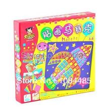 Herramientas de transporte niños nueva EVA mosaicos pegajosos Classic IQ pegajosa juguetes educativos para niños