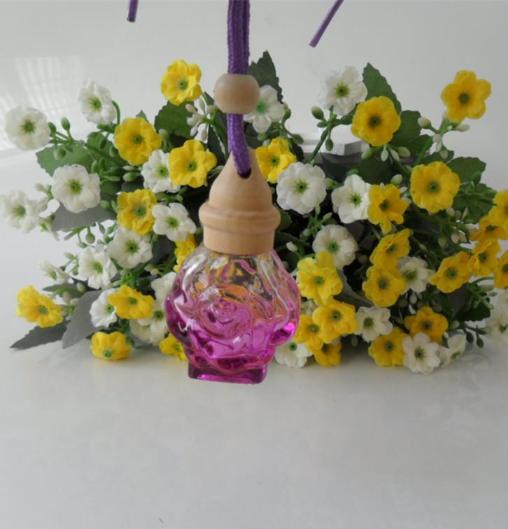 100pcs Empty car perfume car ornaments car accessories car perfume bottle empty bottle pendant 10ML<br><br>Aliexpress