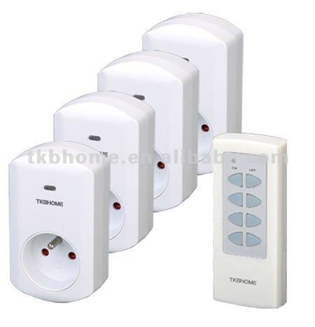 TKBHOME Wireless plug remote control socket TW68F 1V4 free shipping