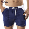 Taddlee Brand Men Swimwear Swimsuits Sexy Low Waist Pocket Swim Boxer Trunks Surf Boardshorts Gay Men's Swimming Bathing Suits