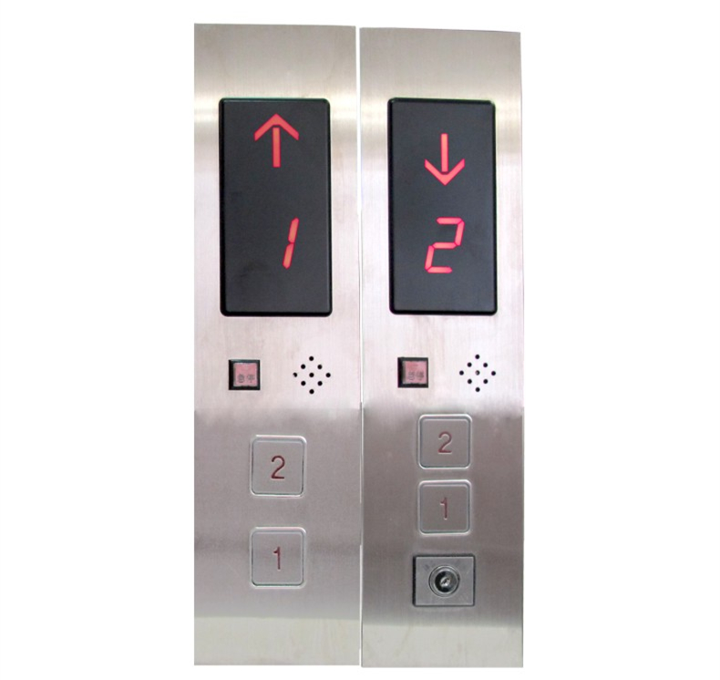 Stainless steel display button plate Elevator control panel THREE STOP<br><br>Aliexpress