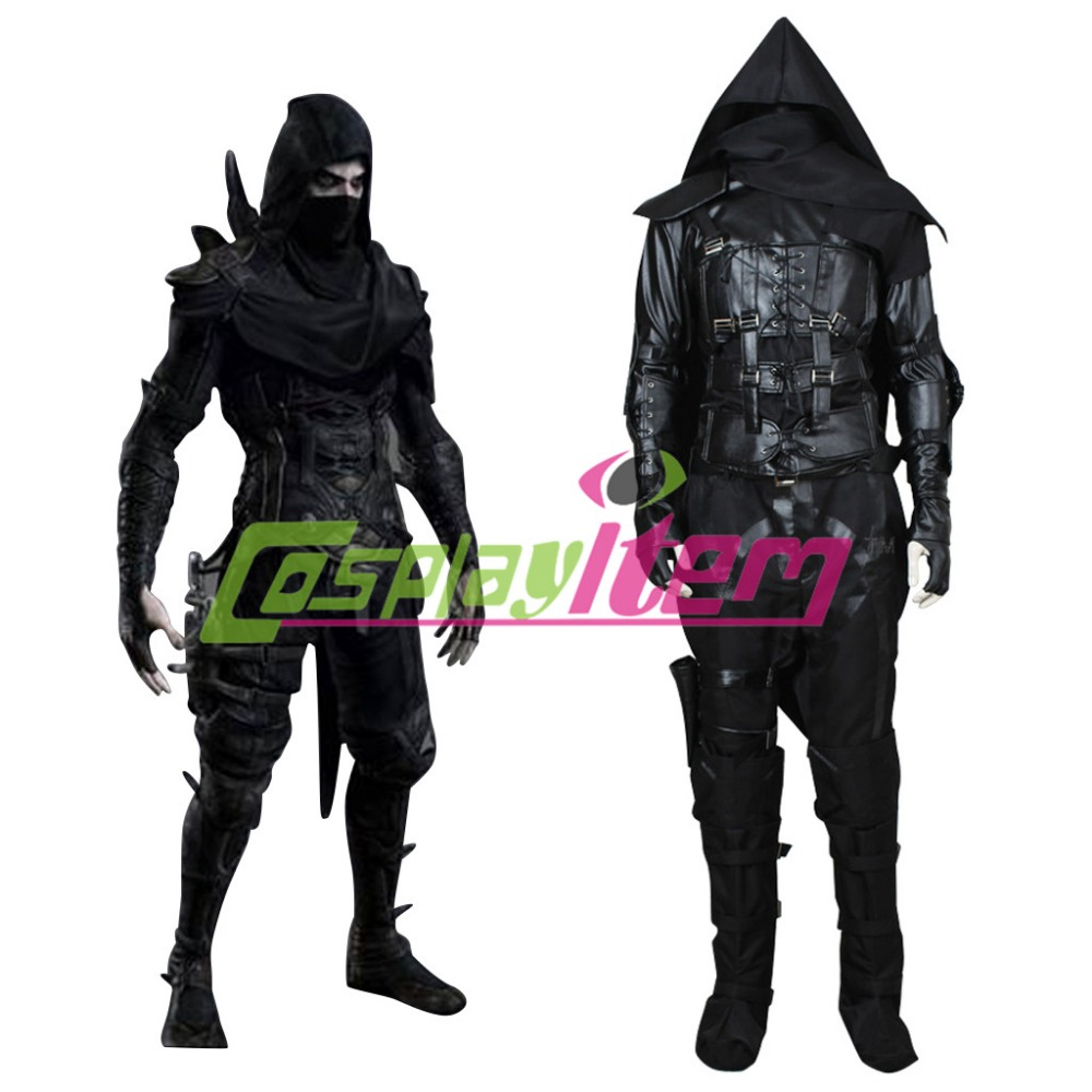 Thief 4 Garrett Cosplay Costume Adult Men Halloween Carnival Outfit Costumes Version 01 - Cosplayitem COS store