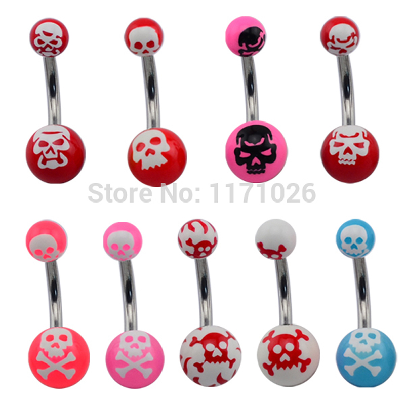 New 50pcs acrylic navel belly ring free shipping fashion navel jewelry body piercing <br><br>Aliexpress