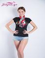 Jinjin QC Fashion Silk Scarf WInter Women Square Scarves and Shawls Excharpe Foulard Femme Bandana