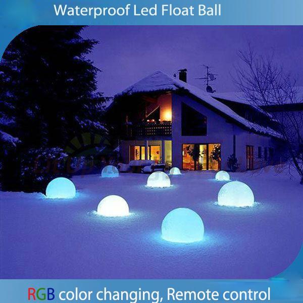 Battery LED Ball Light Outdoor RGB plastic led furniture(China (Mainland))