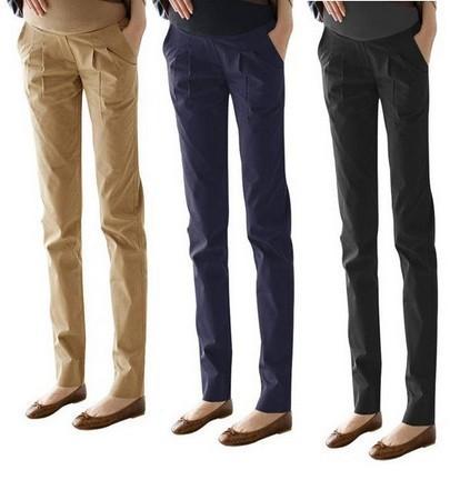 2017 Summer Straight Casual Maternity Pants Pregnancy Pants For Pregnant Women Black Trousers Nursing Clothing Women Pants