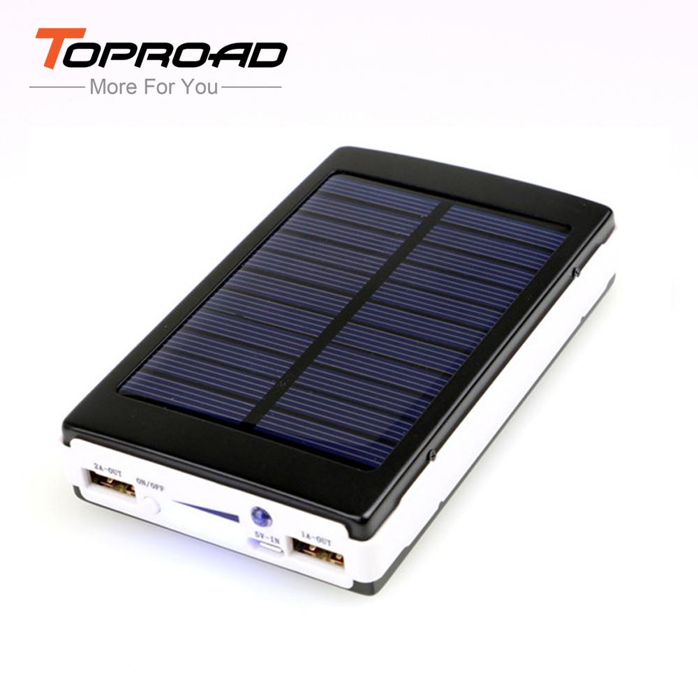 12000mAh High Capacity Solar Power Bank Box Portable Universal Solar Panel External Charger Laptop Battery Bank for Smart Phone(China (Mainland))