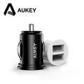 Aukey Universal Micro Auto Mini 2 Ports Car Charger Adapter for iPhone7 Plus 6S HTC M9