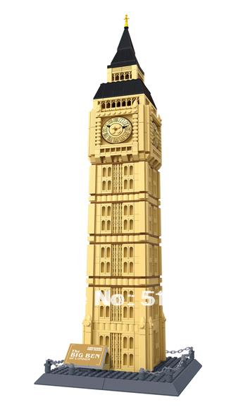 Wange The Big Ben Of London Building Block 1642pcs World 39 S