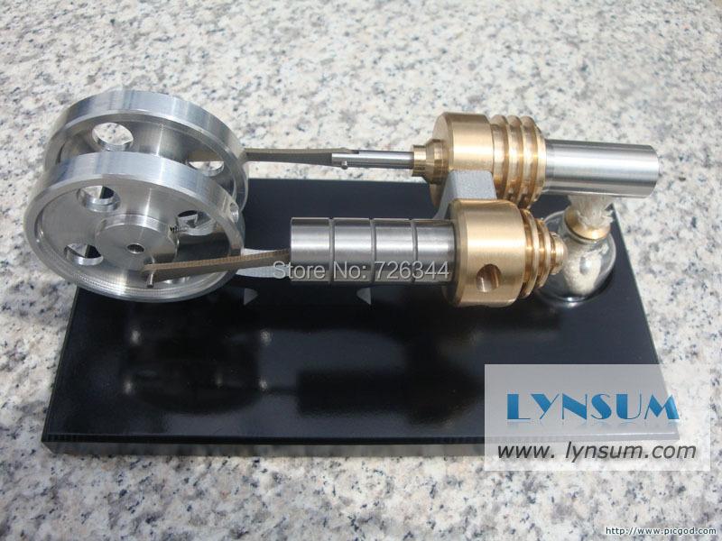 Детский набор для моделирования Hot Air Stirling Engine Generator S02001 diy mini hot air stirling engine motor model science