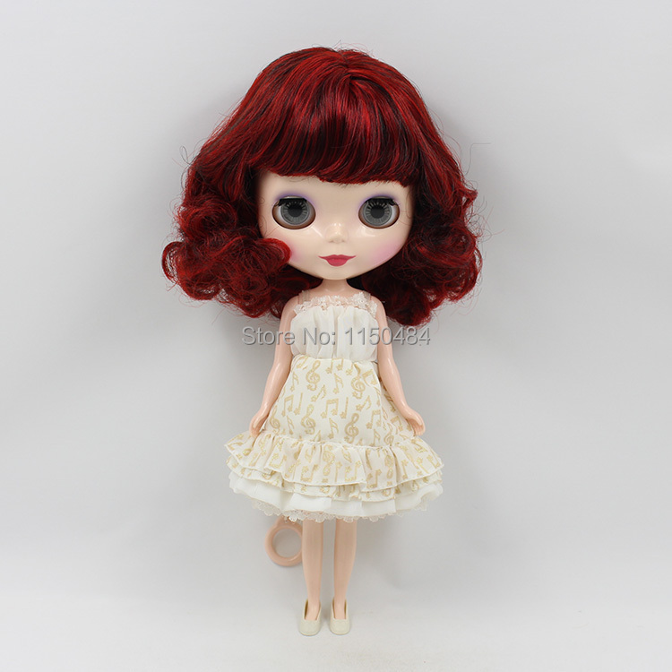 2015 New Listing Lovely Neo Nude Blyth Doll DIY Toy Girls Gift No.BL12489103(China (Mainland))