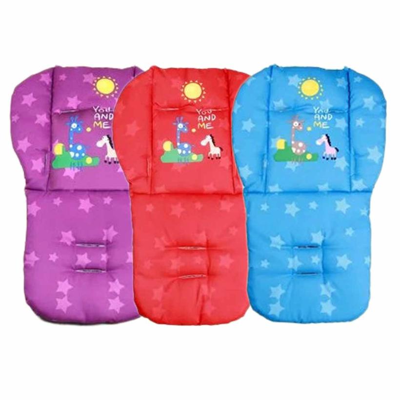 Creative Baby New Giraffe Stroller Cushion Child Cart Seat Cushion Cotton Thick Mat